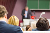 Lecture at university. — Stock Photo