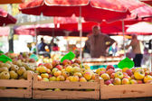Fruit market stall. — Stock Photo