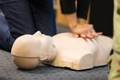 First aid CPR seminar. — Stock Photo