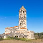Romanesque church of Santa Trinita di Saccargia. — Stock Photo