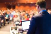 Public speaker at Business Conference. — Stock Photo