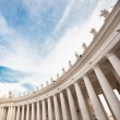 St Peters Square in Vatican. Rome. — Stock Photo #57888763