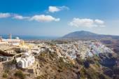 Thira, Santorini, Greece. — Stock Photo