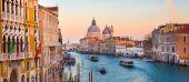 Canal Grande i Venedig, Italien. — Stockfoto