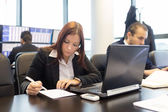 Business people in modern office. — Stock Photo