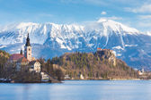 Bled, Slovenia, Europe. — Stock Photo