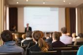Audience in the lecture hall. — Foto Stock