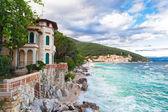 Moscenicka Draga, Croatia. — Stock Photo