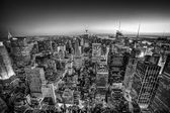 New York City Manhattan downtown skyline. — Stock Photo