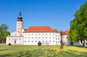 Klasztor Kostanjevica na Krki, Słowenia, Europa. — Zdjęcie stockowe