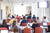 Informatica workshop aan de Universiteit. — Stockfoto