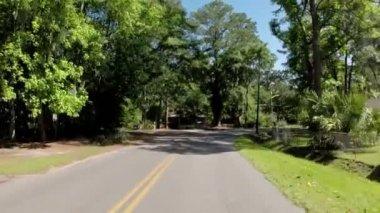 Plantation road — Stock Video