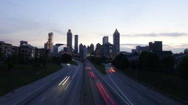 Atlanta skyline, Georgia, USA — Stock Video