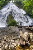 Yutaki waterfall in Nikko national park, Japan — Stok fotoğraf