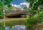 Koenigsworther bridge — Stock Photo