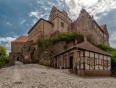 Castle Quedlinburg — Stock Photo