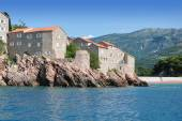 Sveti Stefan Island. Montenegro. — Stock Photo