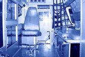 Interior cabin of an ambulance  — Stock Photo