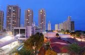 Panama City in the sunset  — Stock Photo