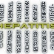3d image Hepatitis  medical concept word cloud background — Stock Photo #61624919