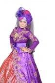 Portrait of a beautiful muslim woman — Stock Photo