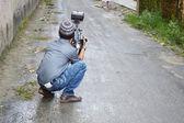 Camera man — Stock Photo