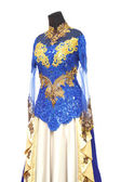 Indonesian kebaya traditional wedding dress — Stock Photo