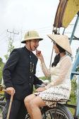 Indonesian bridal couples prewedding photoshoot — Foto de Stock
