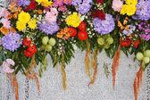 Çiçek süsleme — Stok fotoğraf