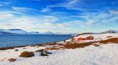 Norge. vinter — Stockfoto