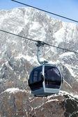 Ski resort in Austria — Stock Photo