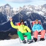 Ski, snow, sun — Stock Photo #61732697