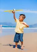 Boy with kite — Stock Photo