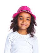 Little mulatto girl — Fotografia Stock