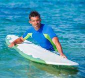 Surf man. — Stock Photo