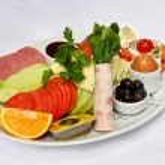 Breakfast plate — Stock Photo #64489679