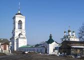 Bogoyavlenskiy male priory in city Mstyora,Russia — Stock Photo