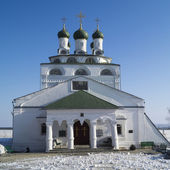 Bogoyavlenskiy cathedral in male priory in city Mstyora,Russia(1 — Stock Photo