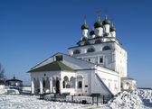 Bogoyavlenskiy cathedral in male priory in city Mstyora(1687-168 — Stock Photo