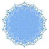 круглое украшение — Cтоковый вектор