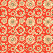 Seamless pattern with  elements of Russian ornaments — Stock Photo