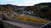 Village in the Erzgebirge, Germany — Stock Photo