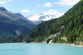 Lake in the Ortler-Group — Stock Photo