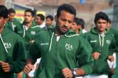 Muhammad Irfan Pakistan Field Hockey Player — Stock Photo