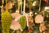 Christmas bump on the christmas tree — Stock Photo