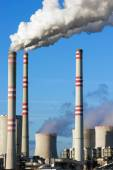 Coal power plant — Stock Photo