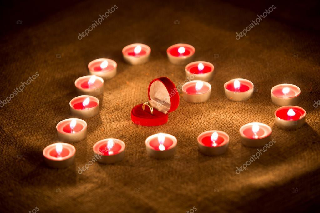 Heart Made of Candles in Heart Made of Candles