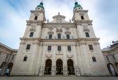 17th century cathedral of Salzburg, Austria — ストック写真
