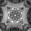 Beautiful decorated ceiling at Salzburg Cathedral — Stock Photo #66683841
