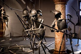 Old battle reconstruction at museum in Salzburg — Stock Photo